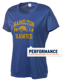 Hamilton Middle School Hawks Women's Competitor Performance T-Shirt