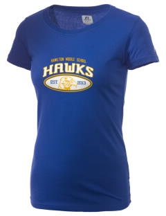 Hamilton Middle School Hawks  Russell Women's Campus T-Shirt