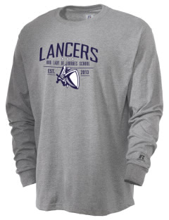 Our Lady Of Lord Saint James School Lancers  Russell Men's Long Sleeve T-Shirt