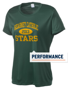 Kearney Catholic High School Stars Women's Competitor Performance T-Shirt