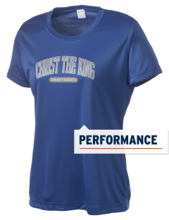 Christ The King School Panthers Women's Competitor Performance T-Shirt