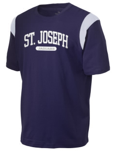 Saint Joseph School Jaguars Holloway Men's Rush T-Shirt