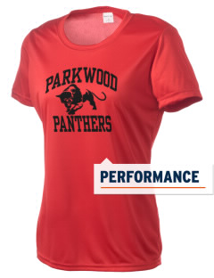 Parkwood Elementary School Panthers Women's Competitor Performance T-Shirt