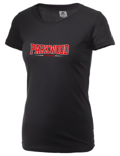Parkwood Elementary School Panthers  Russell Women's Campus T-Shirt