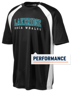Lakeridge Elementary School Orca Whales Men's Dry Zone Colorblock T-Shirt