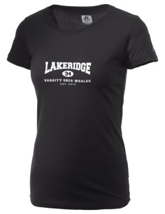 Lakeridge Elementary School Orca Whales  Russell Women's Campus T-Shirt