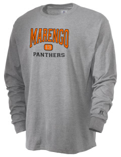 Marengo High School Panthers  Russell Men's Long Sleeve T-Shirt