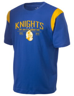 Saint Joan Of Arc Elementary School Knights Holloway Men's Rush T-Shirt
