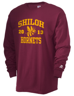Shiloh Elementary School Hornets  Russell Men's Long Sleeve T-Shirt