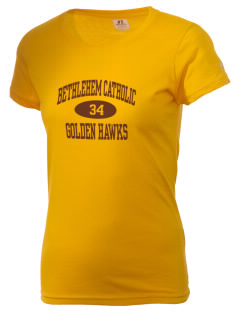 Bethlehem Catholic High School Golden Hawks  Russell Women's Campus T-Shirt