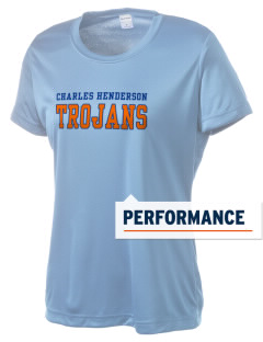 Charles Henderson Middle School Trojans Women's Competitor Performance T-Shirt