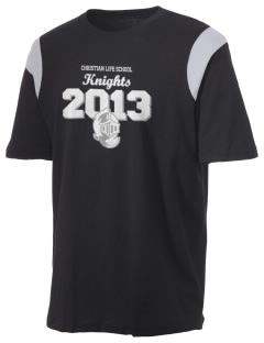 Christian Life School Knights Holloway Men's Rush T-Shirt