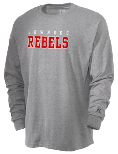 Lowndes Academy Rebels  Russell Men's Long Sleeve T-Shirt