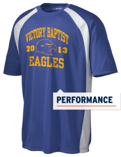 Victory Baptist Academy Eagles Men's Dry Zone Colorblock T-Shirt