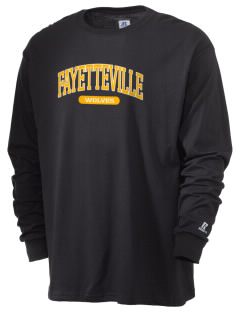 Fayetteville School Wolves  Russell Men's Long Sleeve T-Shirt