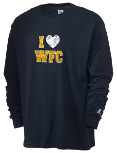 West Florida Christian School Eagles  Russell Men's Long Sleeve T-Shirt