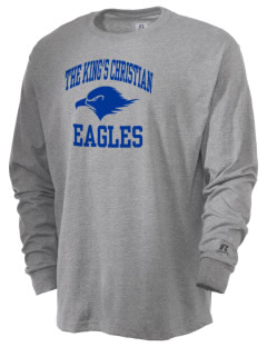 The King's Christian Academy Eagles  Russell Men's Long Sleeve T-Shirt