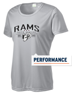 Faith Academy Rams Women's Competitor Performance T-Shirt