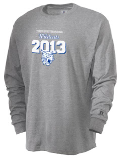 Trinity Presbyterian School Wildcats  Russell Men's Long Sleeve T-Shirt