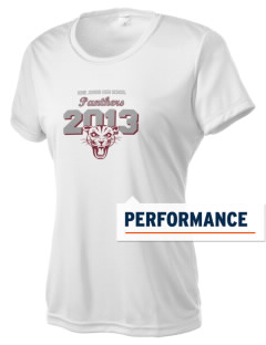 Hine Junior High School Panthers Women's Competitor Performance T-Shirt