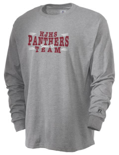 Hine Junior High School Panthers  Russell Men's Long Sleeve T-Shirt