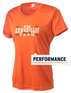 Saint Matthew's Episcopal School Armadillos Women's Competitor Performance T-Shirt