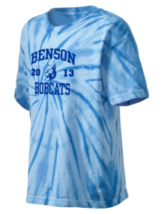 Benson High school Bobcats Kid's Tie-Dye T-Shirt