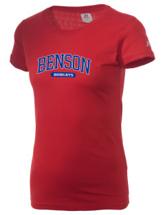 Benson High school Bobcats  Russell Women's Campus T-Shirt