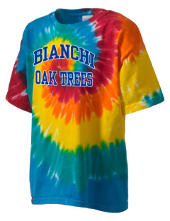 Bianchi Elementary School Oak Trees Kid's Tie-Dye T-Shirt