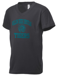 Willow Creek Christian School Tigers Kid's V-Neck Jersey T-Shirt