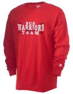 Seattle Christian School Warriors  Russell Men's Long Sleeve T-Shirt