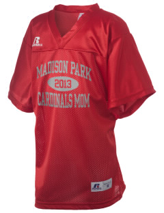 Madison Park Technical Vocational High School Cardinals Russell Kid's Replica Football Jersey