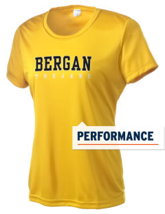 Bergan High School Trojans Women's Competitor Performance T-Shirt