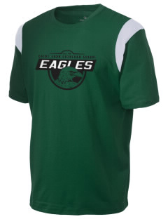 Saint John Lutheran School Eagles Holloway Men's Rush T-Shirt