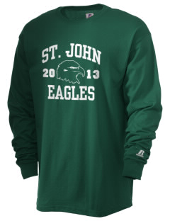 Saint John Lutheran School Eagles  Russell Men's Long Sleeve T-Shirt