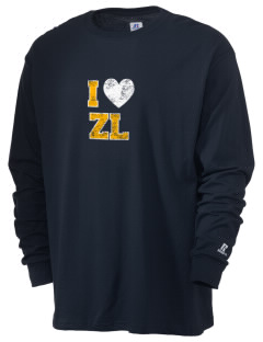 Zion Lutheran School Lions  Russell Men's Long Sleeve T-Shirt