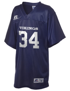 First Lutheran School Vikings Russell Kid's Replica Football Jersey