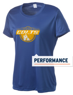First Lutheran School Colts Women's Competitor Performance T-Shirt
