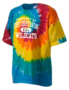 First Christian Day School Wildcats Kid's Tie-Dye T-Shirt