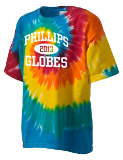 Phillips Academy Globes Kid's Tie-Dye T-Shirt