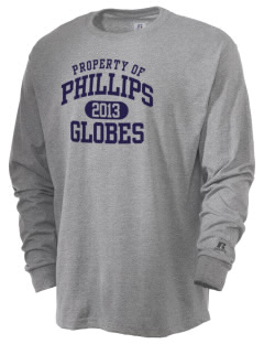 Phillips Academy Globes  Russell Men's Long Sleeve T-Shirt