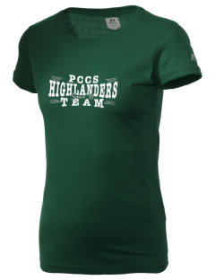 Providence Classical Christian School Highlanders  Russell Women's Campus T-Shirt