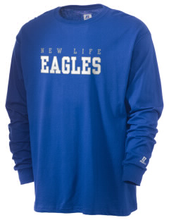 New Life Academy Eagles  Russell Men's Long Sleeve T-Shirt