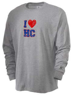 Hilltop Christian School Lions  Russell Men's Long Sleeve T-Shirt