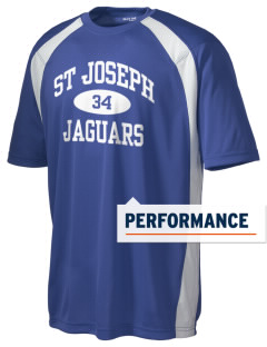 St Joseph School Jaguars Men's Dry Zone Colorblock T-Shirt