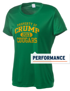 Crump Elementary School Cougars Women's Competitor Performance T-Shirt