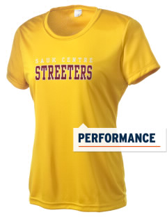 Sauk Centre High School Streeters Women's Competitor Performance T-Shirt