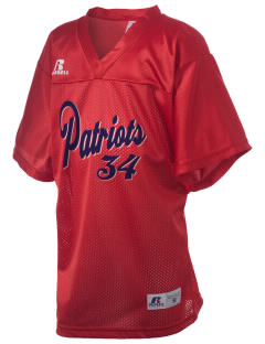 Christian Senior High School Patriots Russell Kid's Replica Football Jersey