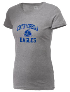 Century Christian School Eagles  Russell Women's Campus T-Shirt