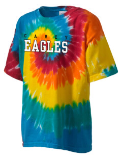 The Carey School Eagles Kid's Tie-Dye T-Shirt